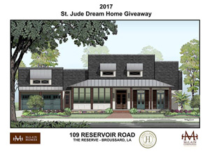 St jude dream home by mclain companies lafayette la for St jude dream home shreveport